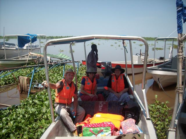THIS IS THE BOAT TO TAKE US DOWN THE NILE TO MELUT