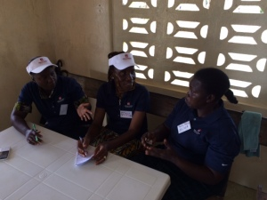 ELWA nursing staff make plans